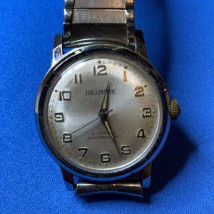 1960s Hallmark 21 Jewel Vintage Vintage Watch Runs